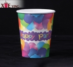 12oz 16oz single Wall paper disposable cup with Lid