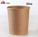 Factory supply flexo printing take away ice cream paper cup