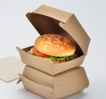Brand Printed Clamshell Hamburger Box