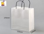 Free charge sample for white Paper Packaging Shopping Bag Kraft Paper